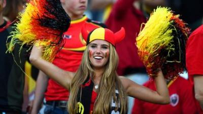 fan football belge